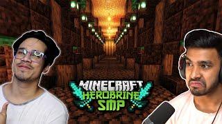 My SECRET Plan | HEROBRINE SMP Minecraft