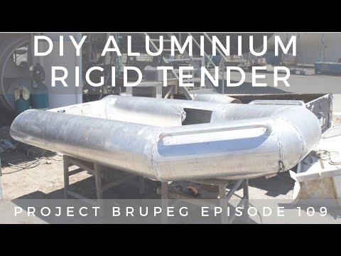 DIY Aluminium Rigid Tender Part 3 - Project Brupeg Ep. 109