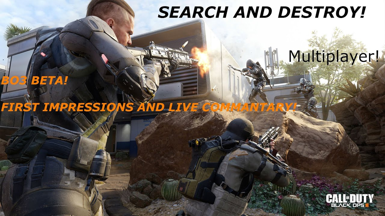 Black Ops 3 Beta - Search And Destroy - Reckt! - YouTube