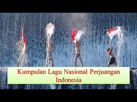 Kumpulan Lagu Wajib Nasional Indonesia ♫ Lagu Perjuangan Nonstop