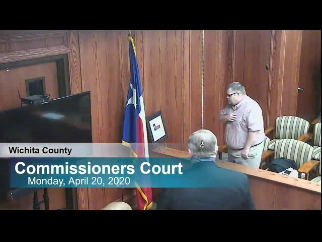 Commissioners Court 04/20/2020