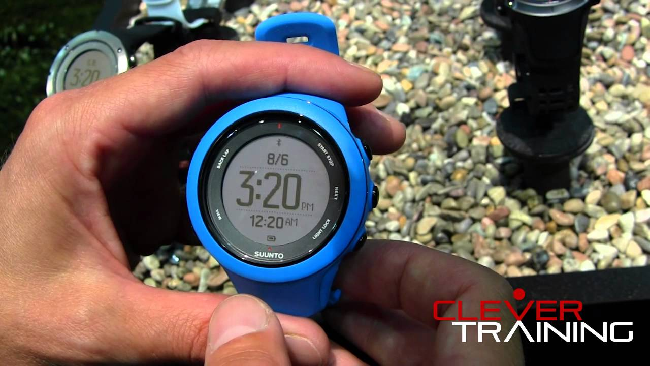 Suunto Ambit3 GPS Watch REVIEW - YouTube