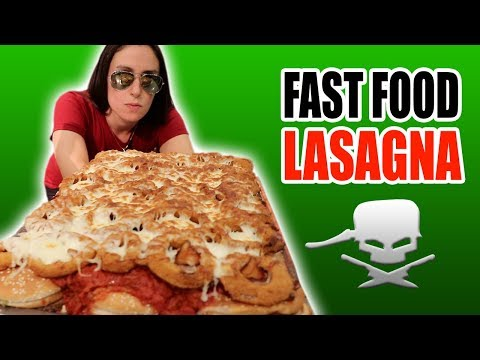DIY FAST FOOD LASAGNA (A Tribute to EpicMealTime) **SURPRISE ENDING**
