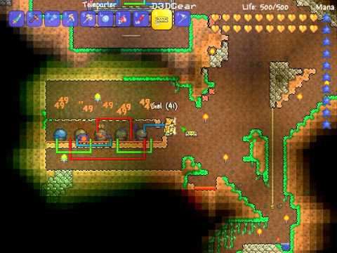 Terraria Super Slime Farm Now With 100 Fewer Timers Youtube