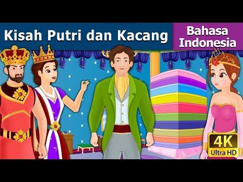 Kisah Putri dan Kacang - Cerita Untuk Anak-anak - Animasi Kartun - 4K - Indonesian Fairy Tales