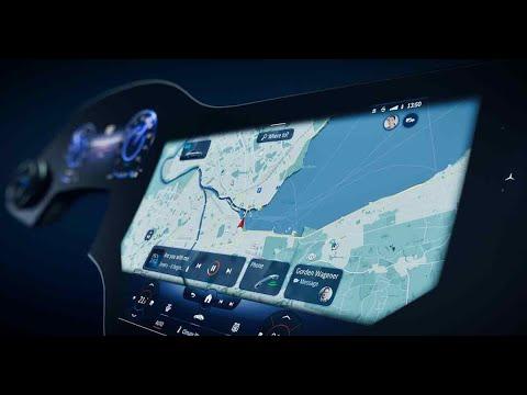 Mercedes Benz MBUX Hyperscreen