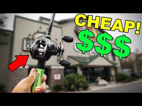 Buying CHEAPEST Baitcaster At BASS PRO SHOPS