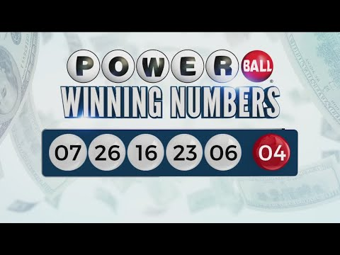 Winning numbers drawn for $700M Powerball