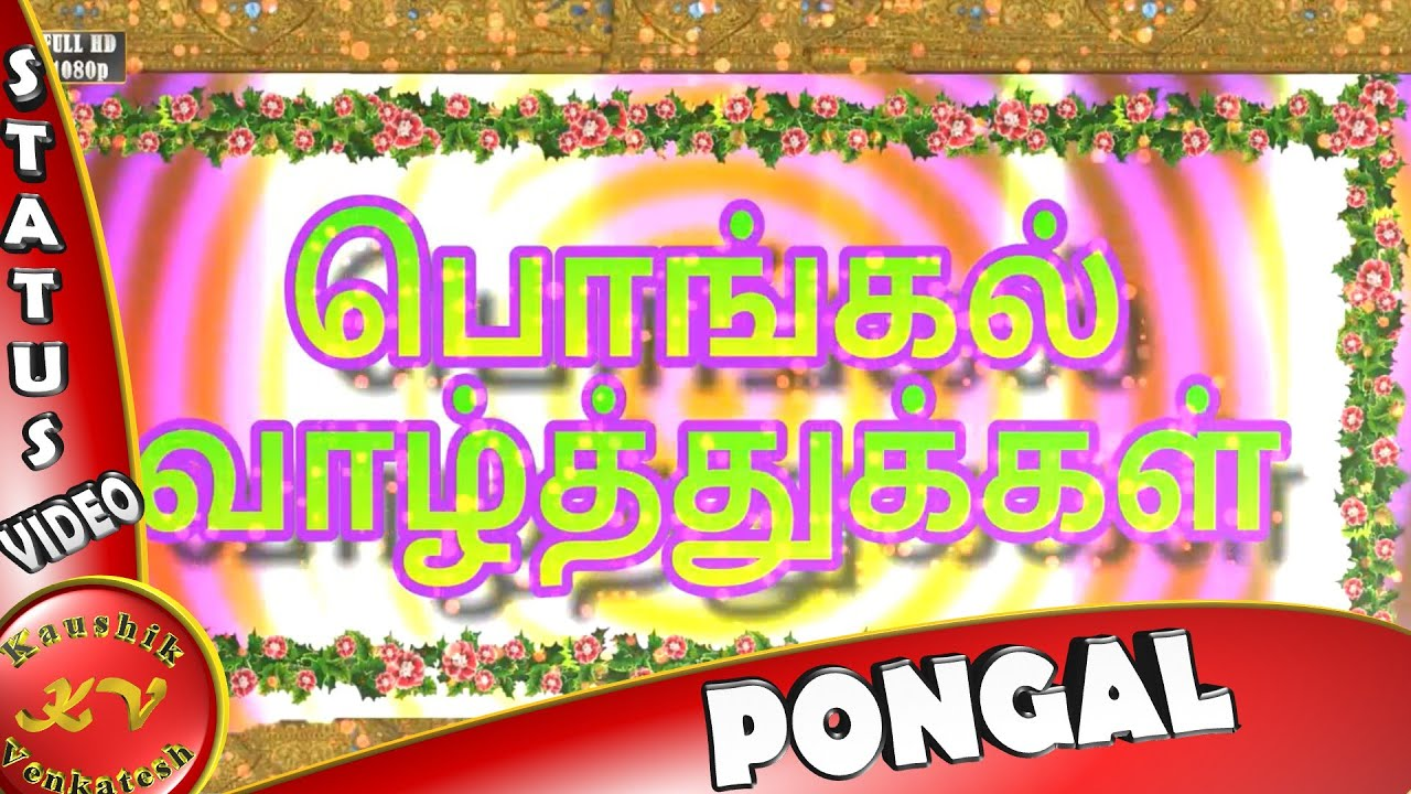 Happy pongal 2018 wisheswhatsapp videogreetings in tamil happy pongal 2018 wisheswhatsapp videogreetings in tamil animationmessageecardpongal festival youtube m4hsunfo
