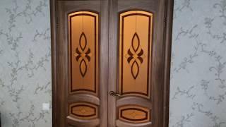 видео Двери в цвете Орех в Москве | Купить межкомнатные двери Орех