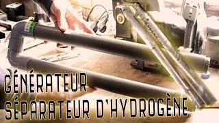 Production d'hydrogène (HHO) - générateur séparateur #2