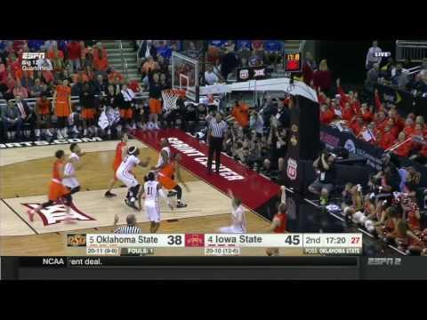 Iowa State vs Oklahoma State | 2016-17 Big 12 Men