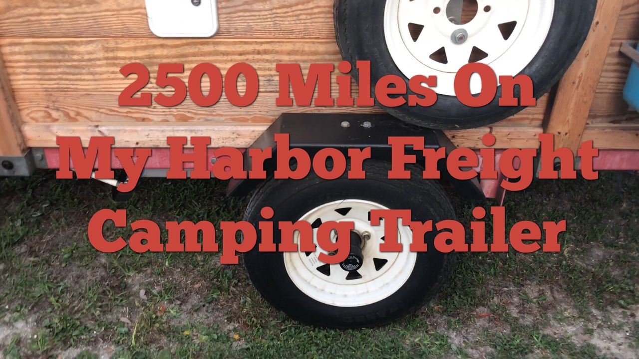Harbor Freight Camping Trailer Destinations