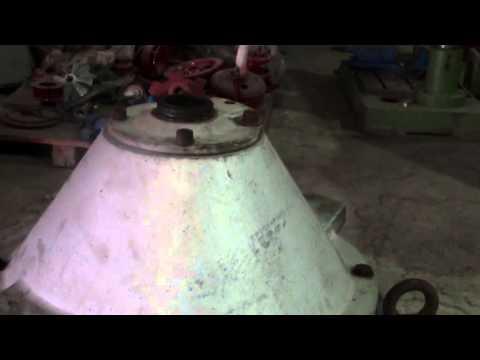 ALFA LAVAL MFPX-307 ON VIBRATION TESTING