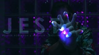 3m jest porter robinson madeon shelter glove light show emazinglightscom