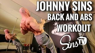 Back & Abs HIIT Workout || Johnny Sins Vlog #49 || SinsTV thumbnail