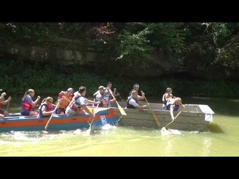 2012 Holy Family School Patoka Cardboard Boat Regatta