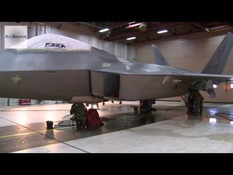 How To Wash A $150 Million F-22 Raptor Fighter Jet