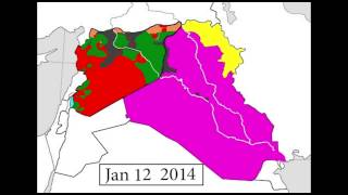 Every Day of the Syrian and Iraqi Civil Wars