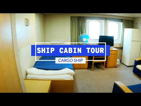 Crew Cabin Tour On A Maersk Cargo Ship