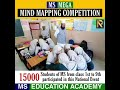 MS Creative School mind mapping competition