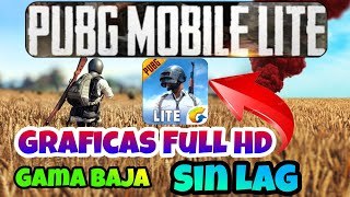 Solucion❗PUBG mobile LITE Graficas Full HD Sin LAG en Gama Baja   Activar 60 FPS   Android