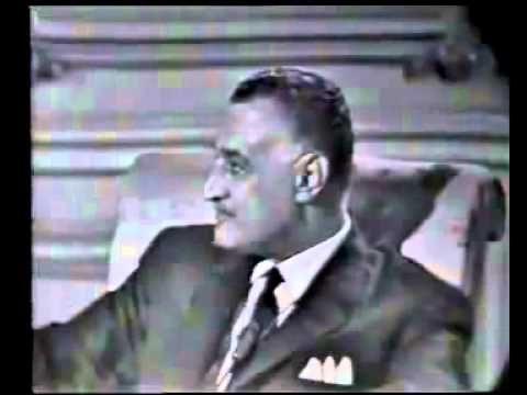 Gamal Abdel Nasser interviewed in English  Please read my comment in the description section   YouTube2