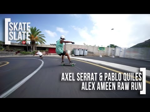 Axel Serrat and Pablo Quiles - Alex Ameen Raw Run - Skate[Slate].TV