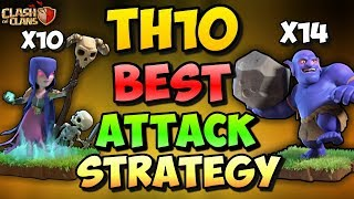 MASS BOWLER + GOWITCH | Th10 BEST STRONGEST 3 STAR ATTACK STRATEGY | Clash Of Clans