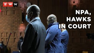 Three senior government officials from the Hawks and National Prosecuting Authority made their first appearance in the Pretoria Magistrates Court on 31 March 2021. They were arrested on charges of corruption.  #Corruption #Hawks #NPA