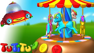 Merry Go Round - Learn How To Build Toys With TuTiTu