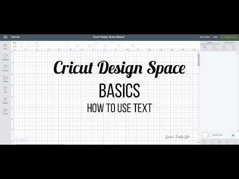 How to Use Text in Cricut Design Space