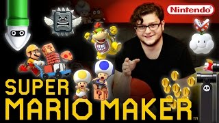 Super Mario Maker : LEARNING THE ROPES!