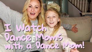 I Watch Dance Moms With My Dance Mom | Clara's World