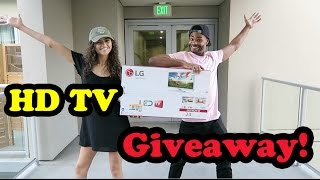 HD TV GIVEAWAY CONTEST!!