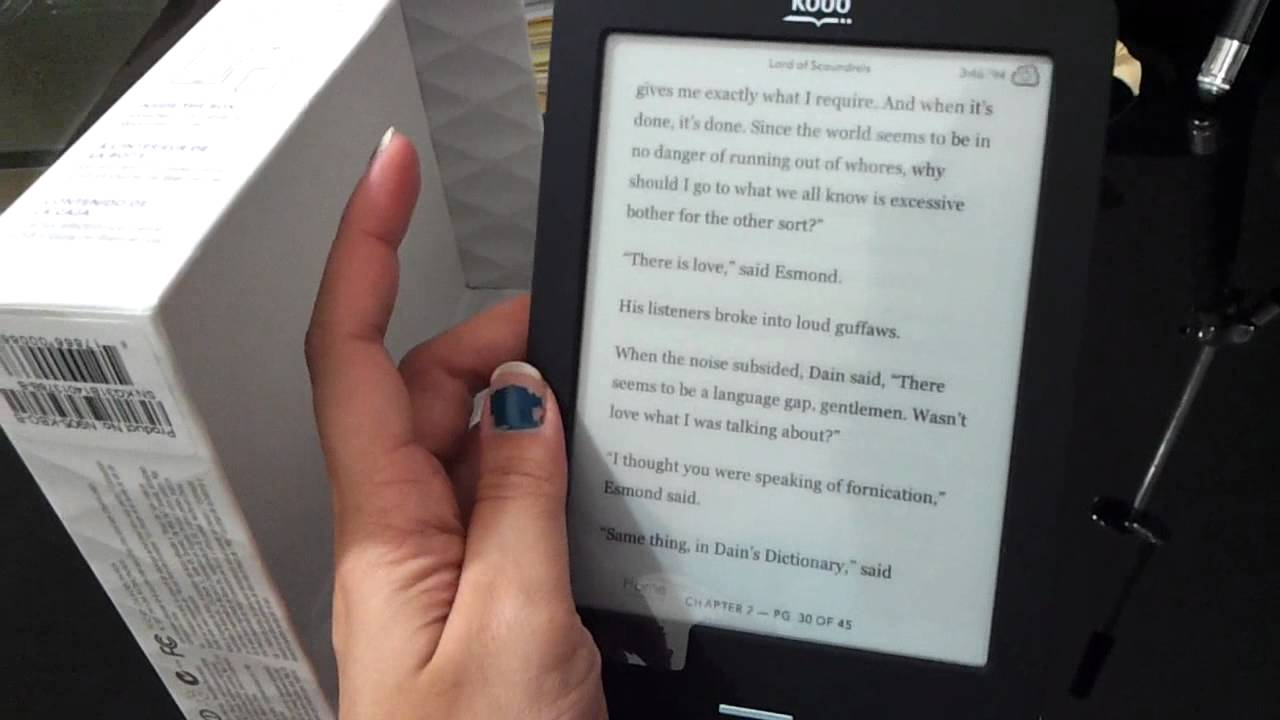 Review: kobo ereader touch edition | techcrunch.