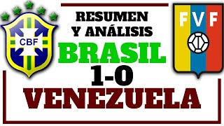 RESUMEN BRASIL vs VENEZUELA - Análisis del partido Brasil vs La Vinotinto - La MANO de JOSÉ PESEIRO