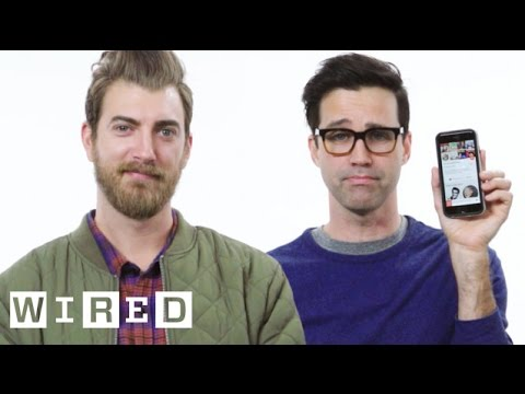 Thumbnail: Rhett & Link Show Us the Last Thing on Their Phones | WIRED