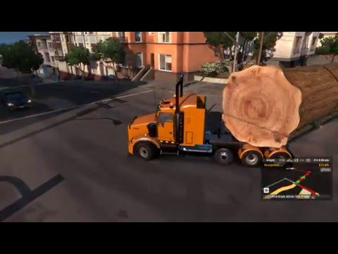 American Truck Simulator: BAOBAB Third try (Part 1) Heavy T800