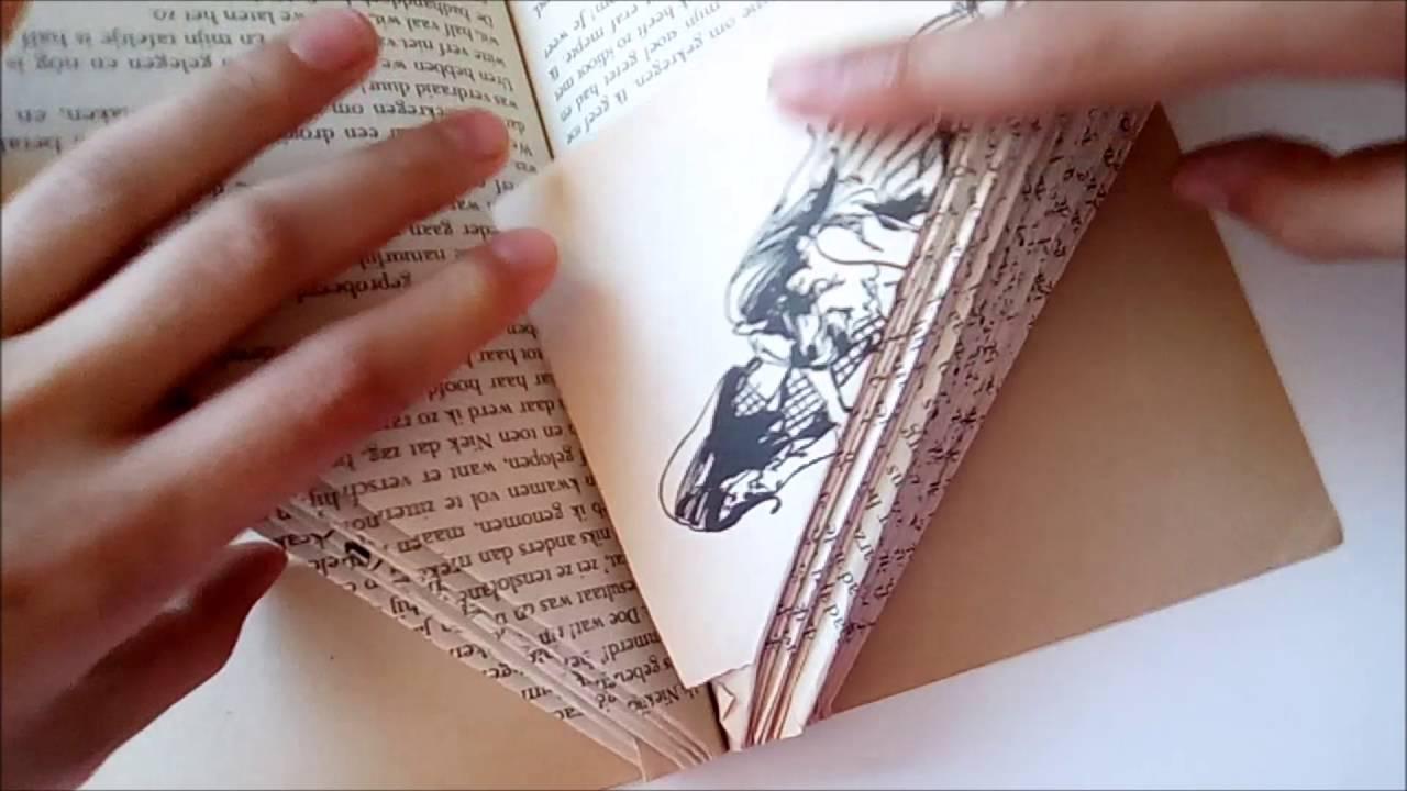 Wonderbaar Knutselen - Een egel vouwen van een boek - YouTube LN-31
