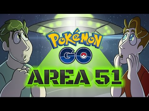 Pokemon Go At Area 51