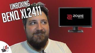 Unbox e Instalação do BenQ Zowie XL2411