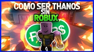 how to DRESS like THANOS WITHOUT ROBUX in ROBLOX!!