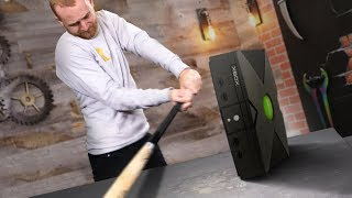Smashing Video Game Consoles!