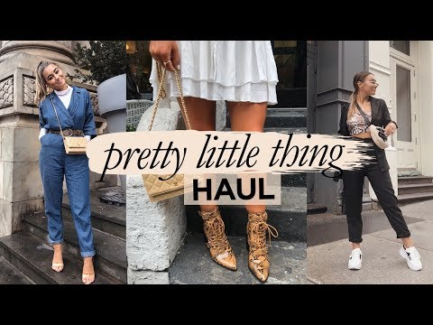 PRETTY LITTLE THING TRY ON HAUL! Julia Havens