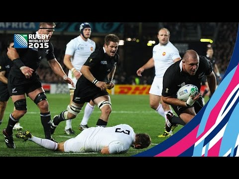All Blacks win the 2011 RWC final!