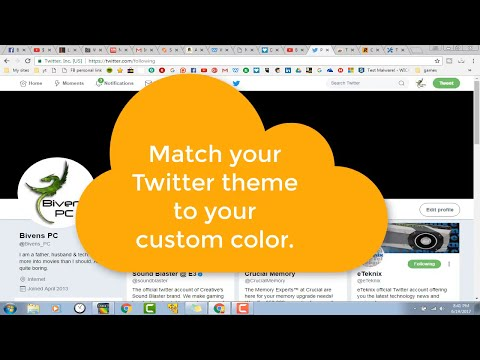 How To Add A Custom Color For Your Twitter Theme