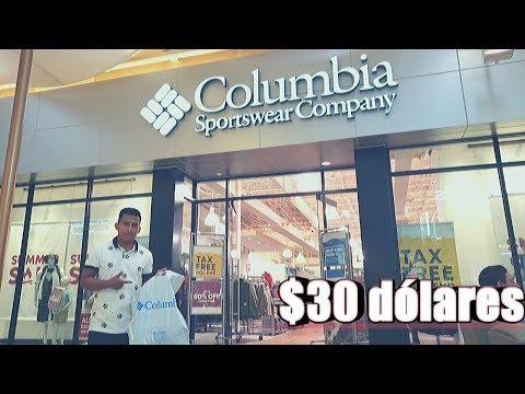 QUE PUEDES COMPRAR CON $30 DOLARES EN COLUMBIA SPORTSWEAR CARLOS TE DA A CONOCER