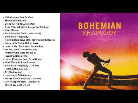 Bohemian Rhapsody 2018 Soundtrack