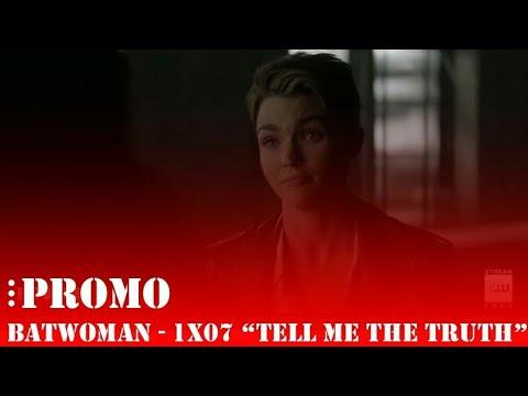 """Batwoman • Promo Do Episódio 1x07 """"Tell Me The Truth"""" - Legendado"""